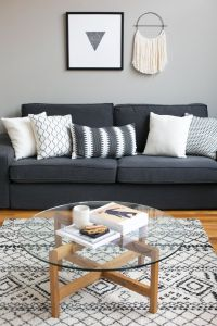 25+ best ideas about Grey sofa decor on Pinterest | Grey ...