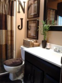 25+ best ideas about Brown bathroom on Pinterest   Brown ...