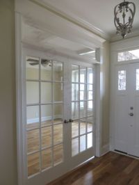 Double door add privacy to this designs flex space. How ...
