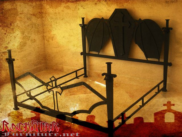 Vampire Bed Wishlist Pinterest Furniture Wings And