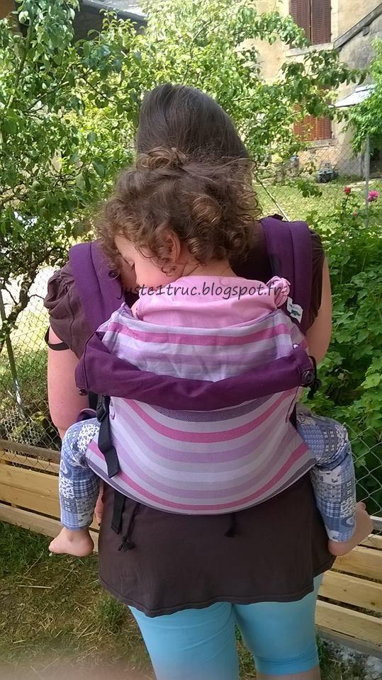 buzzidil xl babycarrier babywearing porte bebe tissu echarpe