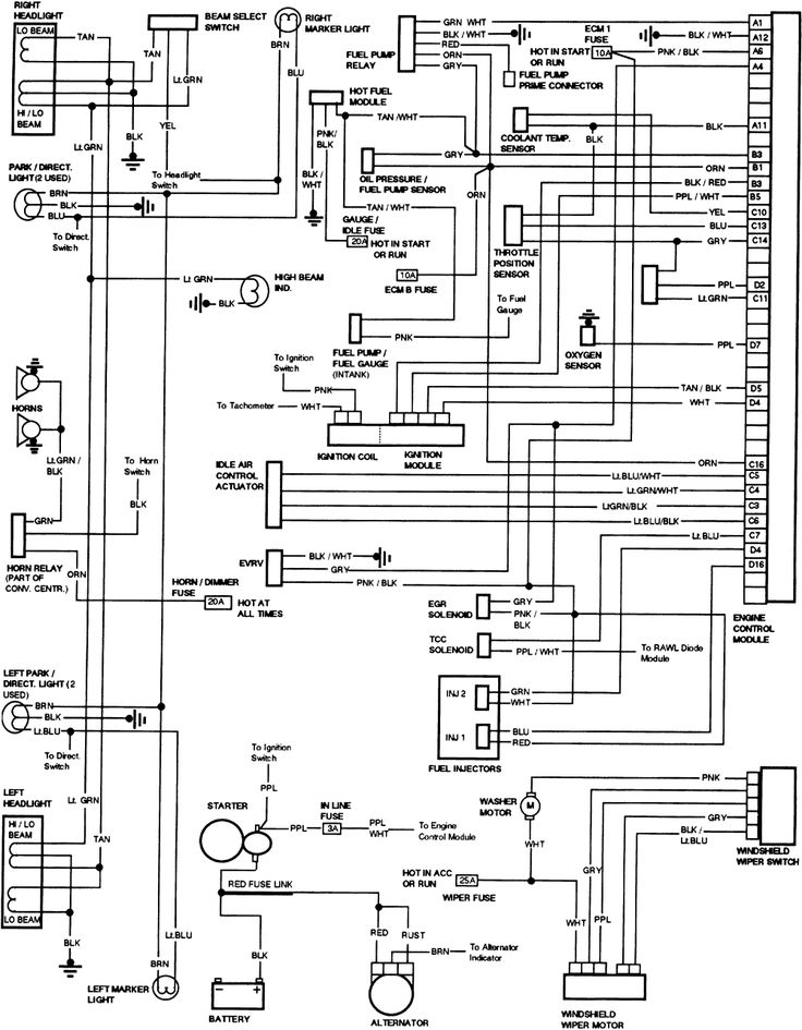 58 best Wiring diagram images on Pinterest
