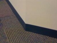 Rubber or vinyl base. Straight base for carpet; cove base ...