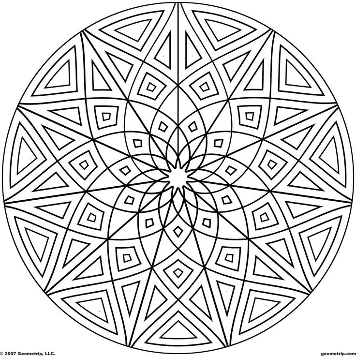 1000+ images about Art: Zentangle Coloring on Pinterest