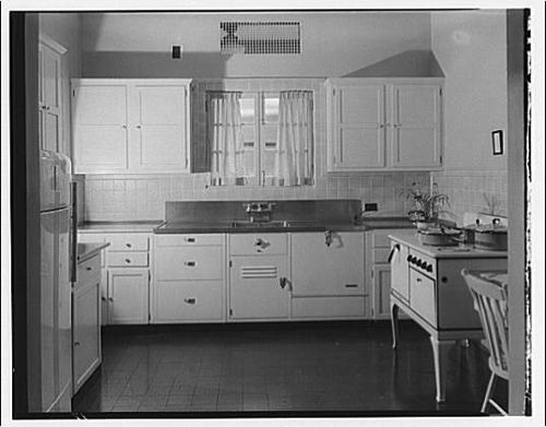 1920s1930s Kitchen From Library Of Congress By Whitewall