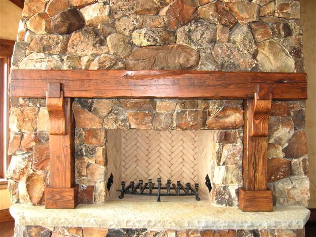 Best Stain For Fireplace Mantel 17 Best Images About Barn Beam Mantles On Pinterest