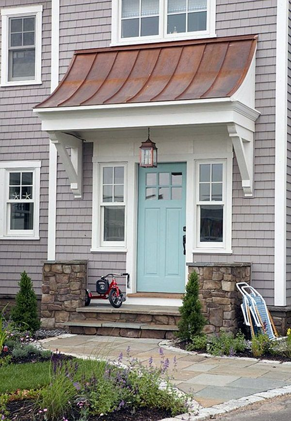 25+ Best Ideas about Front Door Overhang on Pinterest