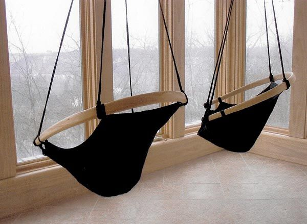 25 best Indoor Hanging Chairs ideas on Pinterest  Swing