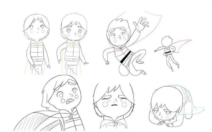 Song of the Sea model sheets (GKIDS/Cartoon Saloon, 2014