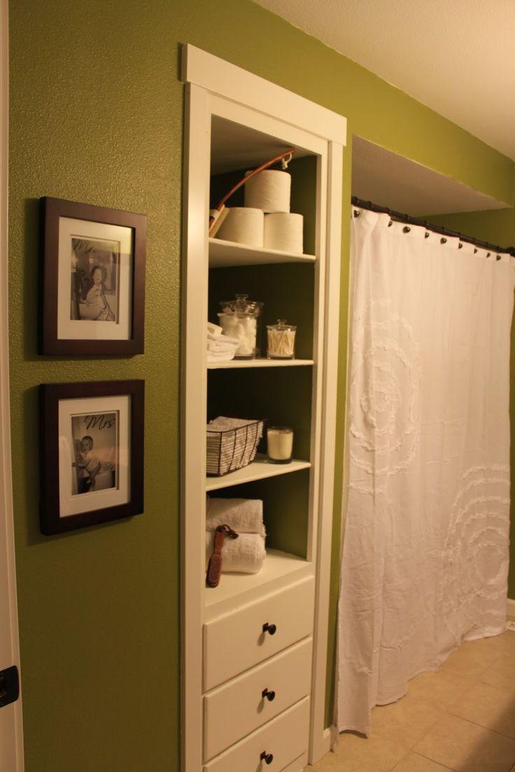25 best ideas about Bathroom built ins on Pinterest