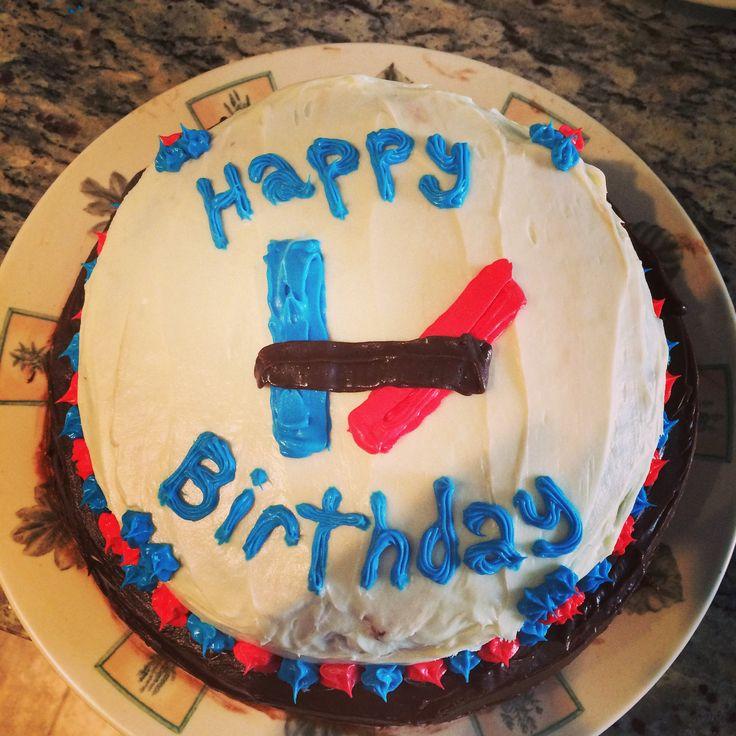 Twenty One Pilots Cake Simple Easy Design Cakes Pinterest Twenty One Pilots Birthday