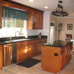 Schrock Kitchen Cabinets Best Sink Brands Marble Countertops With Hickory | Maple Whiskey ...
