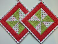 1000+ ideas about Quilted Potholders on Pinterest ...