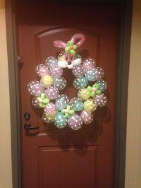 Easter Door Decor | Balloon Decor | Pinterest | Easter ...