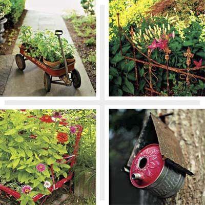 394 Best Images About Garden Junk On Pinterest Junk Art