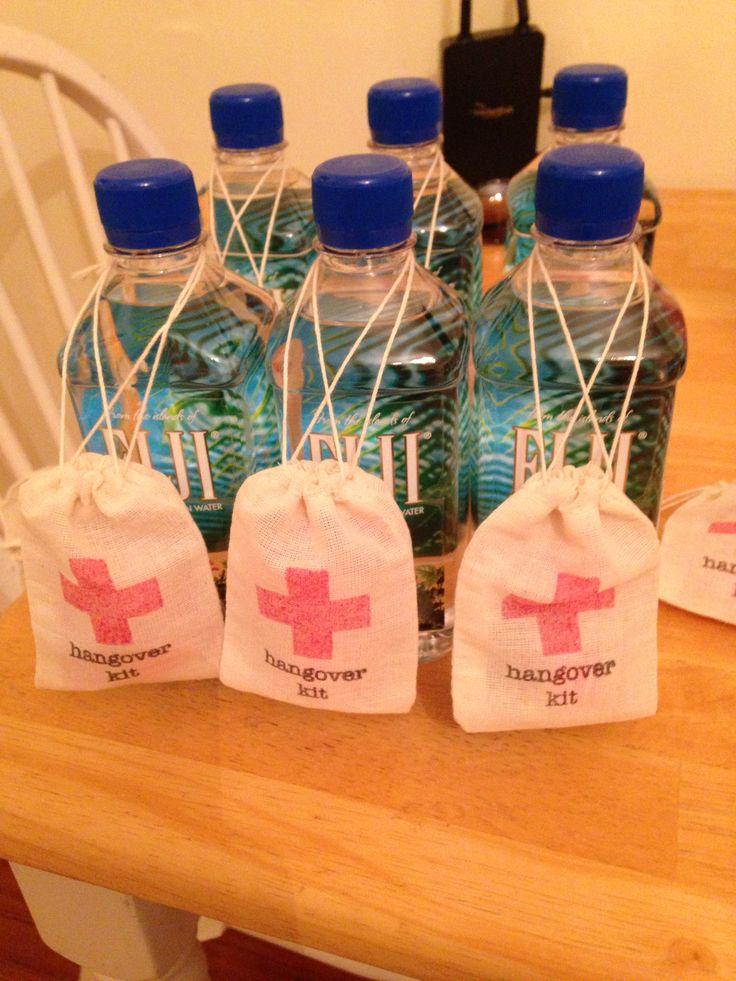 Hangover Kit Wedding Ideas Pinterest Favors And