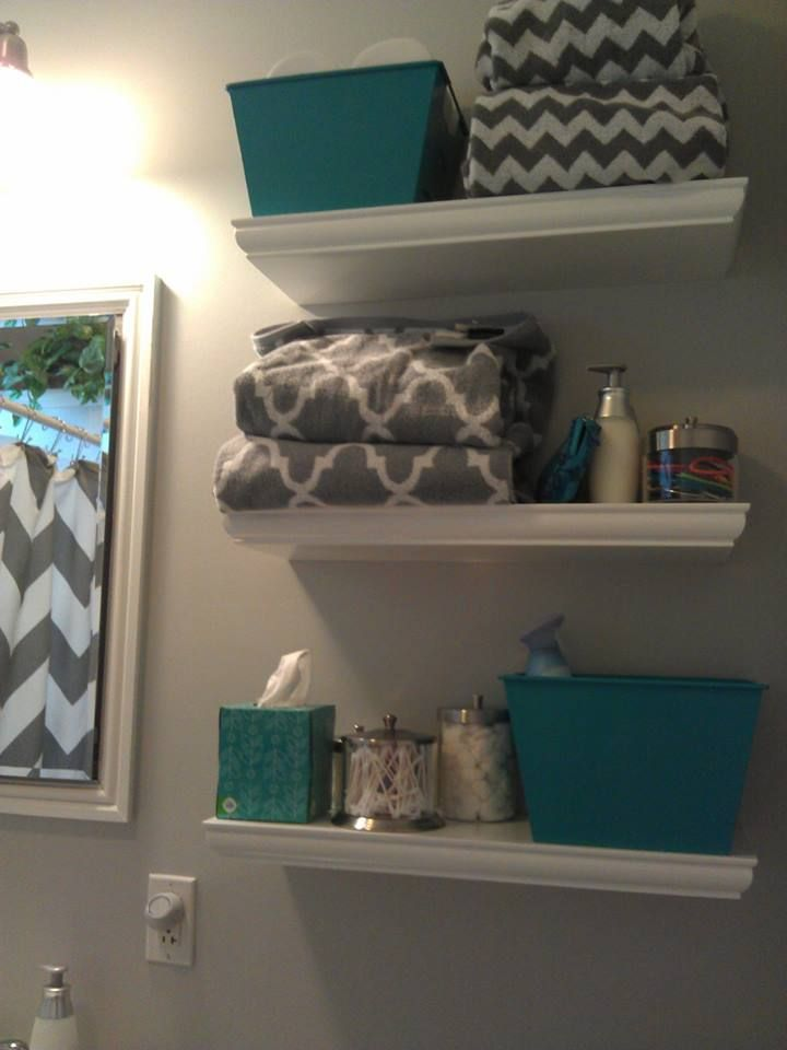 Towels From HomeGoods And TJMaxx Puffs Plus Box Of Tissues ContainerStore For The Three Small