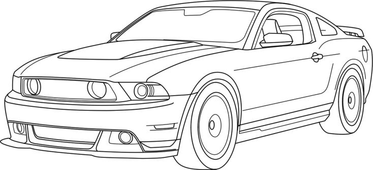 Mustang Logo Coloring Pages Coloring Pages