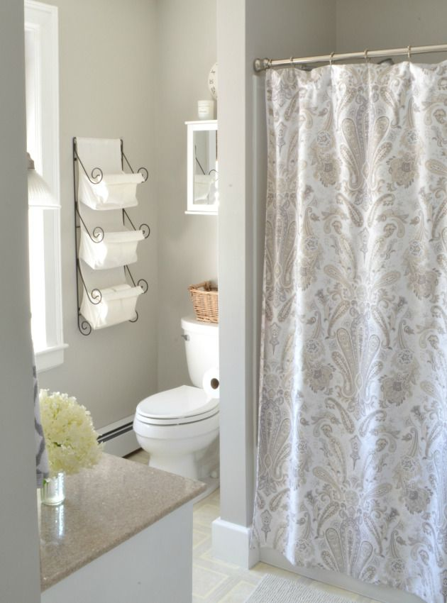 Bathroom Redo sharing a fav neutral paint color
