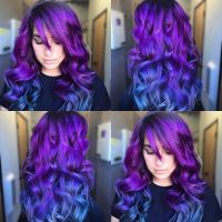 Best 25+ Blue purple hair ideas on Pinterest