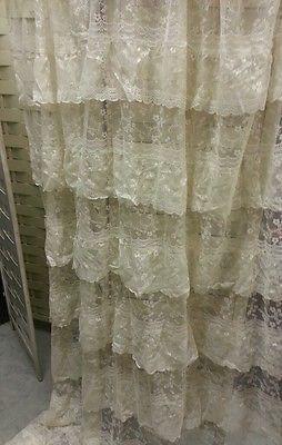 25 best ideas about Lace shower curtains on Pinterest