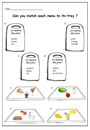 91 best images about French printable Worksheets on