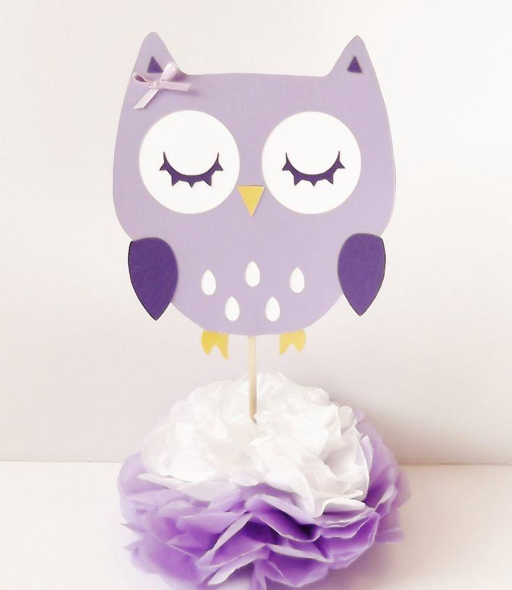 25+ best ideas about Owl centerpieces on Pinterest