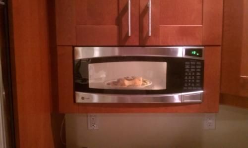 best place to buy kitchen cabinets glass door handles 10+ images about built in microwave on pinterest ...