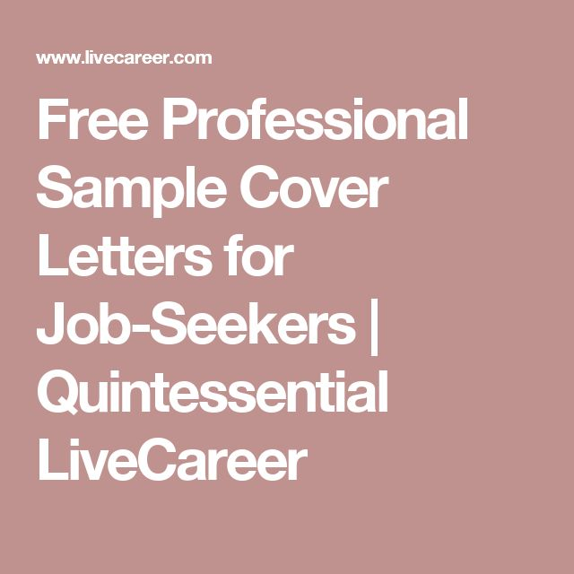 25 Best Ideas about Cover Letter For Job on Pinterest  Perfect resume Job search tips and Job