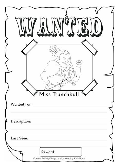 Matilda Roald Dahl Coloring Pages Coloring Pages
