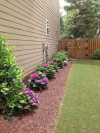 25+ best Side yard landscaping ideas on Pinterest