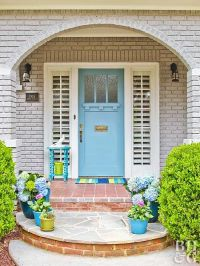 25+ best ideas about Blue front doors on Pinterest | Beige ...