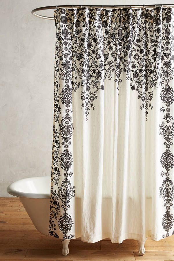 17 Best Ideas About Shower Curtains On Pinterest Small Bathroom