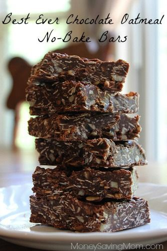 Trust me on this: These are the BEST bars ever! You cant eat just one! Best of all, pretty much everything in them is healthful