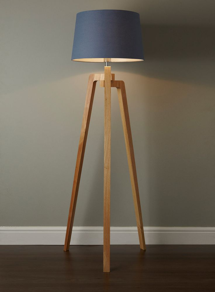 Coby Wooden Tripod Floor Lamp  TWMMH lighting