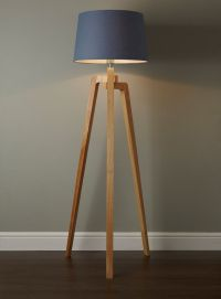 Coby Wooden Tripod Floor Lamp | TWMMH: lighting ...