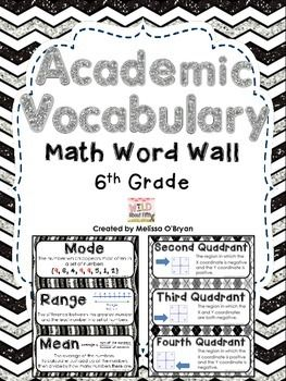 Top 25 ideas about Math Vocabulary Words on Pinterest