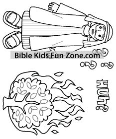 Aarons Rod Budded Coloring Page Coloring Pages