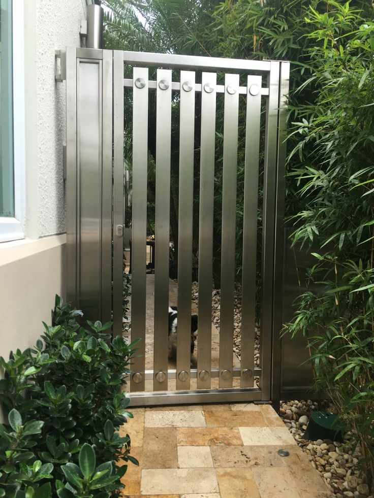 Stainless Steel Gate My Work 2 Pinterest For Dogs