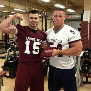 John Cena Springfield College Springfield College Pinterest Colleges And John Cena