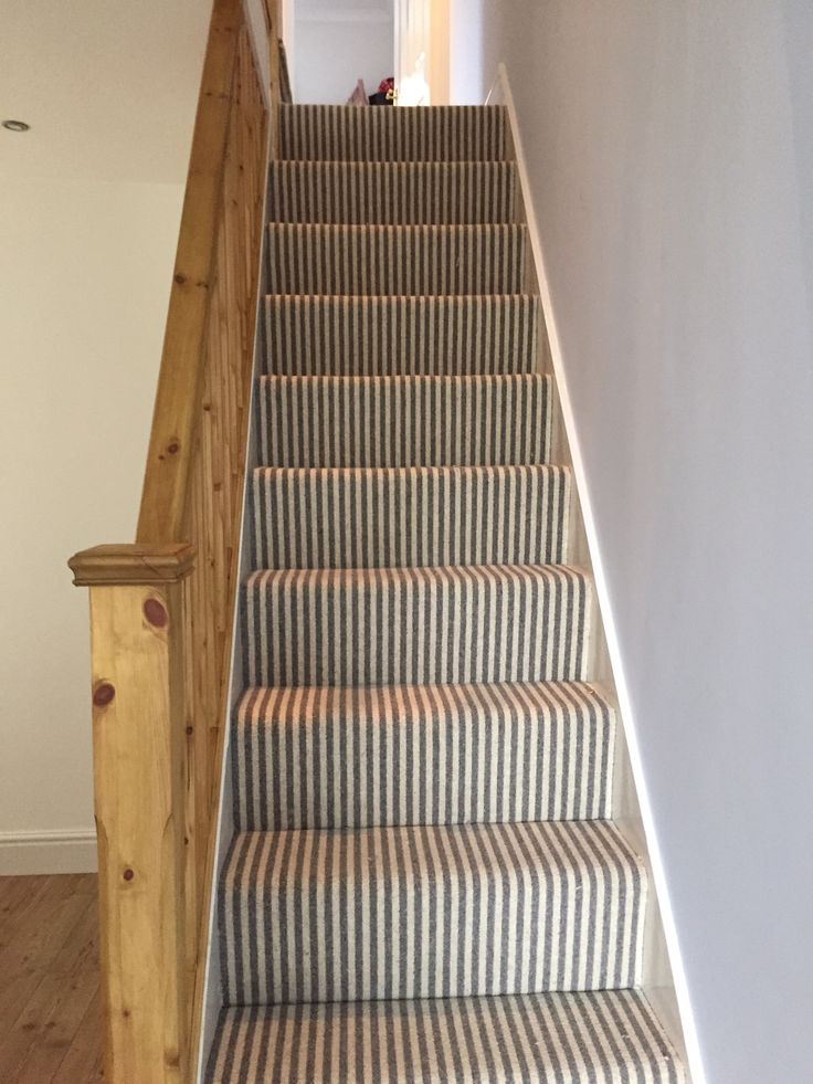 17 Best ideas about Striped Carpet Stairs on Pinterest