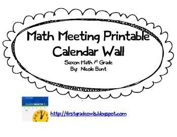 Best 20+ Math Meeting ideas on Pinterest