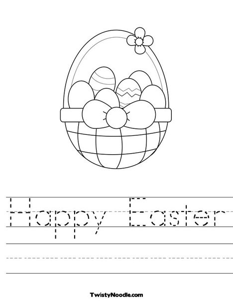 25+ best ideas about Easter worksheets on Pinterest