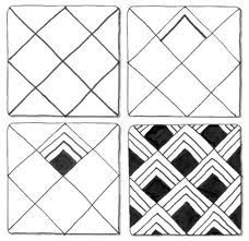 Zentangle patterns, Zentangle and Patterns on Pinterest