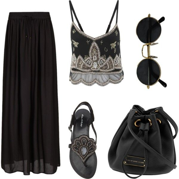 A fashion look from May 2013 featuring Miss Selfridge tops, MANGO skirts and Miss Selfridge sandals. Browse and shop related