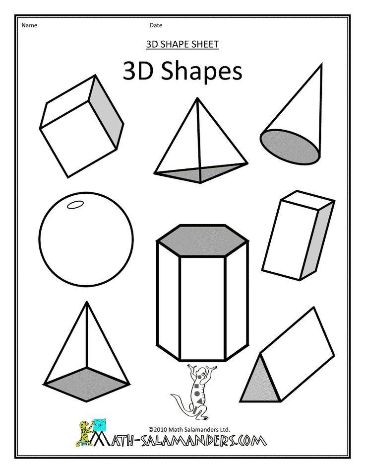 71 best images about Kids shapes printables&activities on