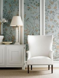 25+ best ideas about Framed Wallpaper on Pinterest