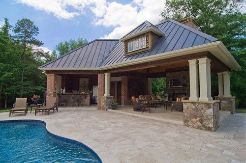 Pool Houses And Cabanas Design, Pictures, Remodel, Decor
