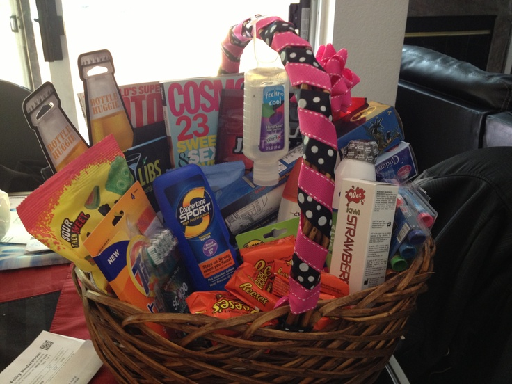 Honeymoon basket!