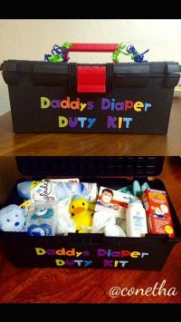 Daddy's Diaper Duty Kit | For Baby & Bridal Showers ...